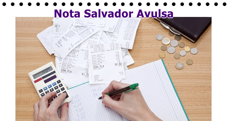 Nota Salvador Avulsa