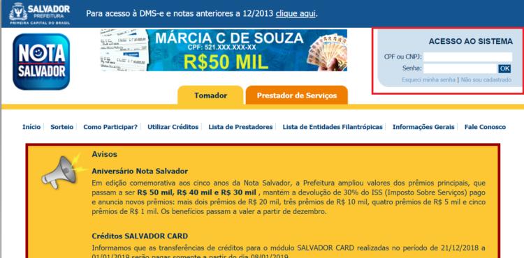 programa de Nota Fiscal de Salvador foto 3