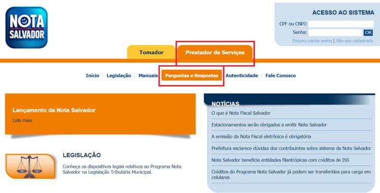 programa de Nota Fiscal de Salvador foto 4